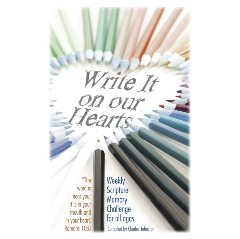 Write It On Our Hearts Square
