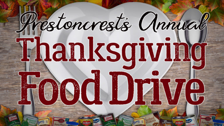 Thanksgiving Food Drive Event